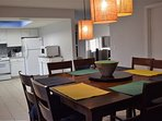 Dining room with seating for 8 persons