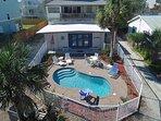 Atlantic View, Pet Friendly, 5 Bedroom, 3 Bath, Sleeps 16, Private Pool