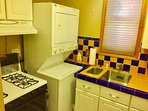 Gas stove and oven, washer and dryer