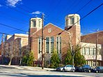 Horace Mann High School, a nationally renowned private High School, is a neighbor