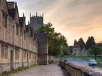 Alms Houses & Church, Chipping Campden
