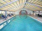 Indoor pool - open Memorial Day thru September