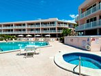 Relax at the Complex Pool and Jacuzzi