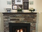 Relaxation Suite - Family  Room - Gas Fireplace