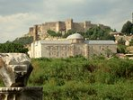 Byzantine castle and the Isabey mosque, just meters away from Garden House