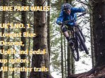 Bike Park Wales is 15 Min's away, also central for other Cycling challenge tracks in South Wales