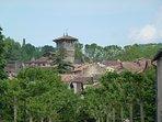 Saint Antonin, nestled in the Aveyron valley
