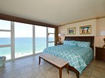 Wake Up In A King Size Bed To This View! Floor To Ceiling Glass With Windows That Open.