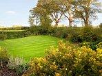 Secluded rear garden