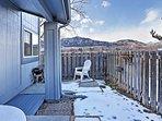 Admire the stunning Flatirons from the backyard.
