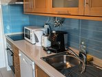 Expresso machine, microwaves, oven, stove, dish washer, toster....