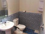 The villa bathroom