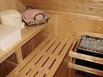 sauna sec intérieur