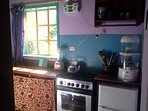 Kitchen -The Hummingbird Suite - Vilcabamba
