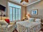 1st Floor - Queen Bedroom Bath Attached