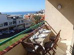 Very well located in Morro Jable, incredible sea views, 200 meters from the beach