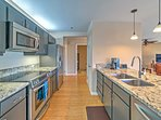 Prepare your favorite meals in the fully equipped, updated kitchen.