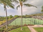 Be sure to bring your racquets for a tennis match!