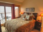 2nd master suite - This room features a queen size bed and en suite bathroom