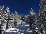Blue Sky Powder Day - Come experience the blue sky powder days of Colorado! Photo taken 2/2/14