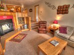 Living Room - Spacious and comfortable, even the sectional sofa pulls out to a queen size bed to sleep 2 additional...