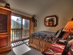 Master Suite View - The spacious Master Suite (bedroom and bath) is on its own floor to ensure privacy away from the...