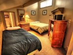Loft  - Queen plus single with attached bathroom perfect for additional guests or a space for kids to play while the...