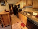 Kitchen Area - Great for a quick breakfast before hitting the slopes, with plenty of space for storage of essentials.