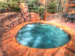 Family Friendly Hot Tub - Visit with people from around the world in the family friendly hot tub.