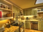 Kitchen   - Well appointed and perfect for cooking meals at home.