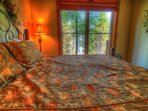 Master Suite - Drift off to the lullaby of the river.