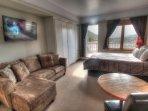 SkyRun Property - '2762 Slopeside' - Condo View - Looking over this 450 square foot studio condo.