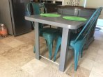 Kitchen Island with table seating for 2