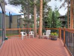 Outdoor shared patio