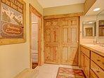Vanity & Closet in Bedroom #1