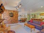 Great open living room