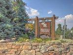 Entrance to Mountain Thunder Lodge