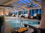 Indoor pool - One Ski Hill Place - Enjoy the indoor pool after a day of skiing. Located at One Ski Hill Place at the...