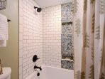 Tub/Shower with new tile