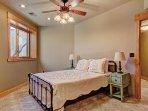 Lower level Queen bedroom