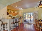 Kitchen and dining room combo seats 10