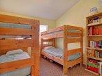 Bedroom #2 - Bunk room sleeps 4