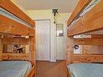 Bedroom #2 - Bunk room (alternate view)
