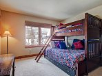 Bedroom #3 Queen Over Twin Bunk With Trundle