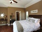 Cozy Master Bedroom with Queen