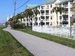 6 miles of walking/biking path along Scenic Gulf Dr.