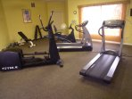 Fitness facility located in the clubhouse