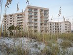 Crystal white sand surround Regency Towers! Amazing views from this condo!