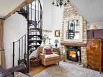 A fabulous additional cottage with sofabed in the living space