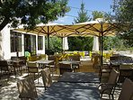 Villa Cicada - The Restaurant 'la Bonne Brise' (the good breeze) has 500 meters of the Villa